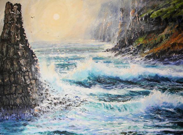 Beneath the Cliffs